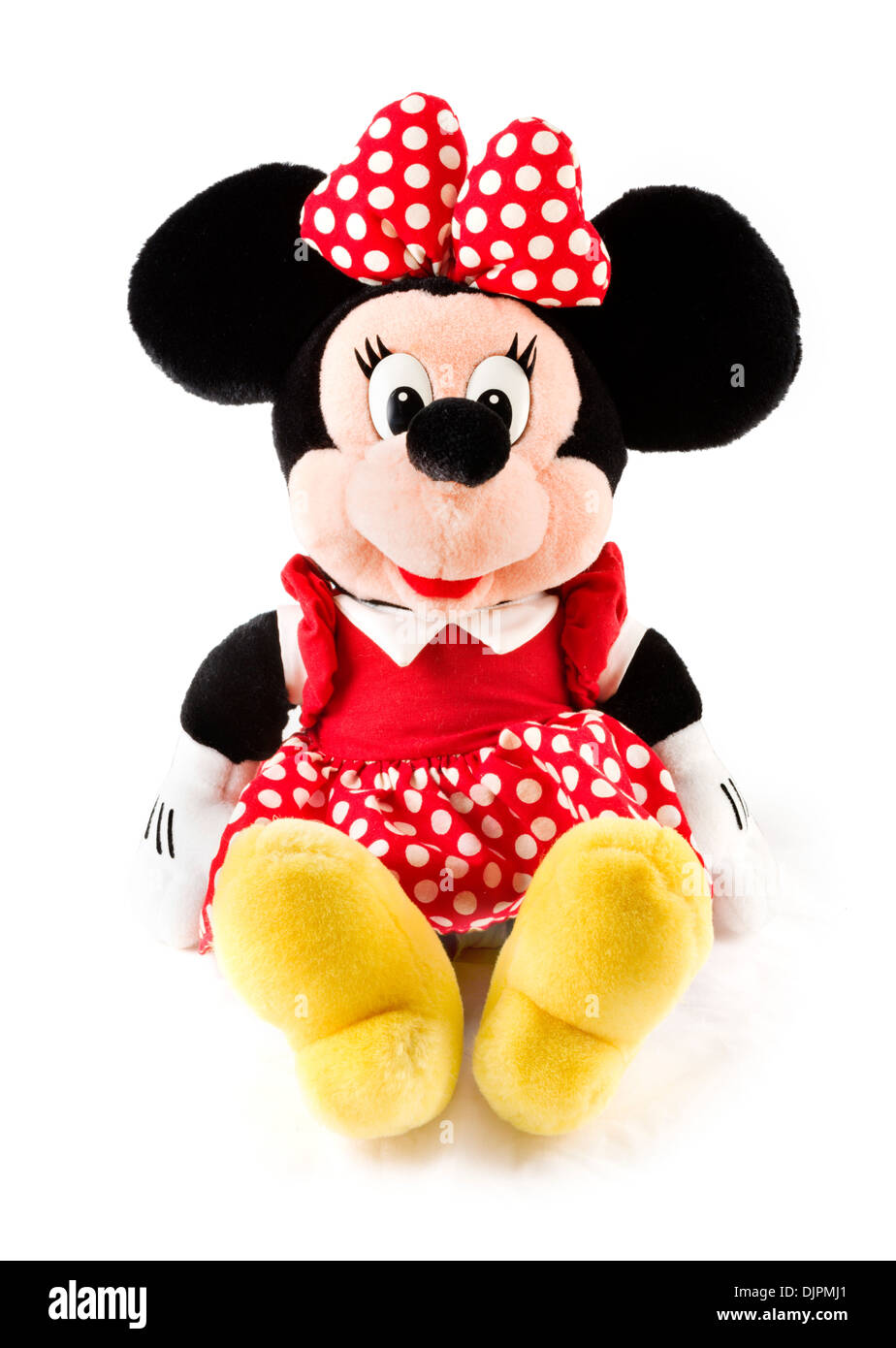 Minnie Mouse cuddly toy, USA - Stock Image