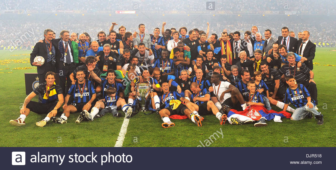 Inter Milan Winners Of The 2010 UEFA Champions League TrophyUEFA FinalInternazionale V Bayern Munich22nd May