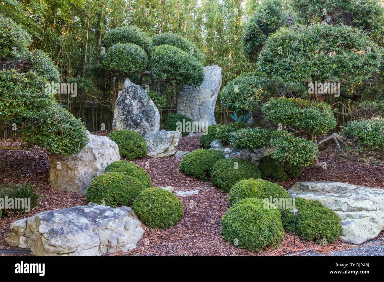 japanese garden at norfolk botanical gardens stock photo: 63207890