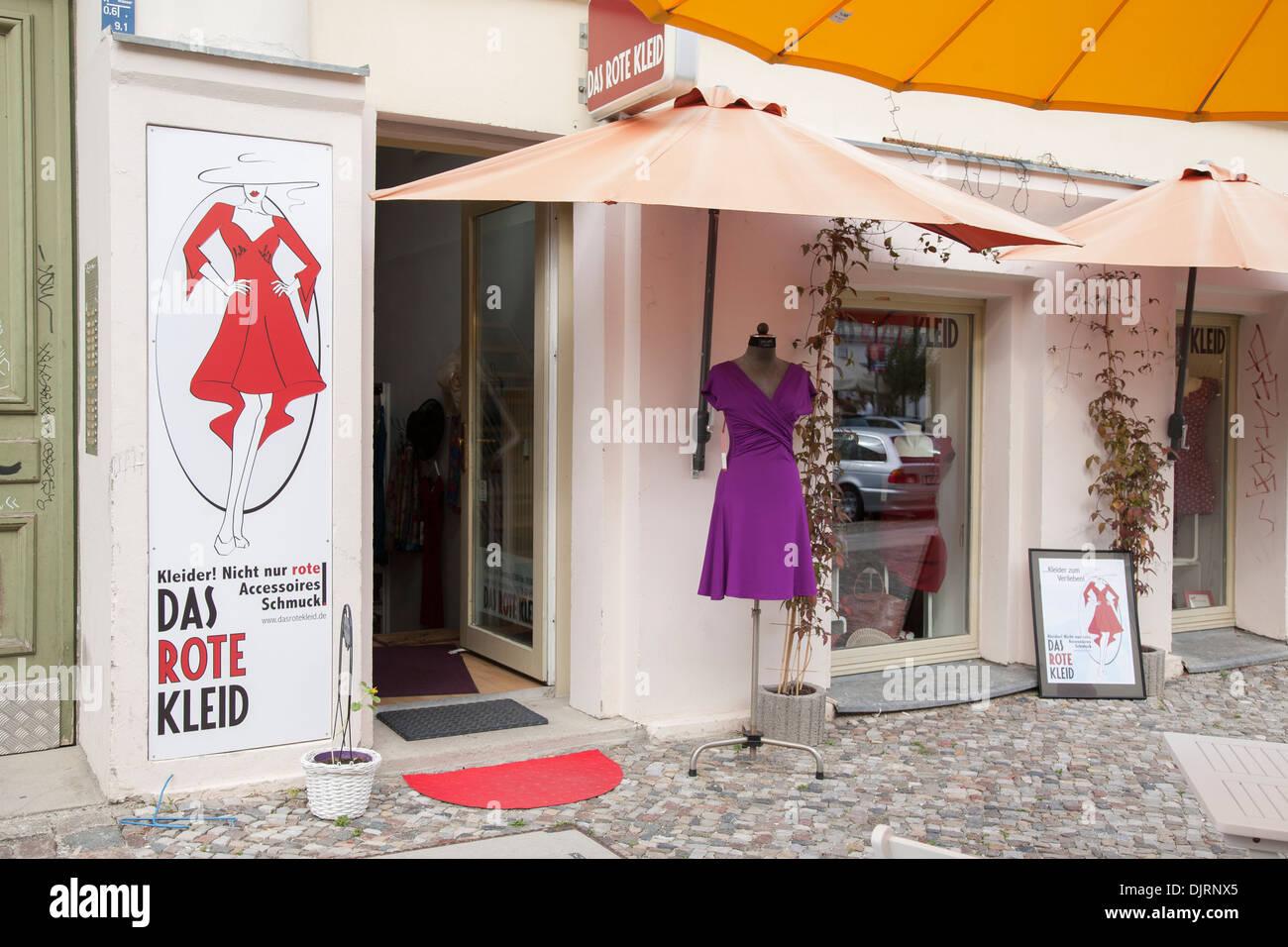 Das rote kleid in berlin
