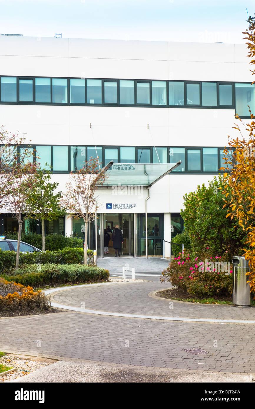 Hermitage Medical Clinic Hospital Dublin, Ireland - Stock Image