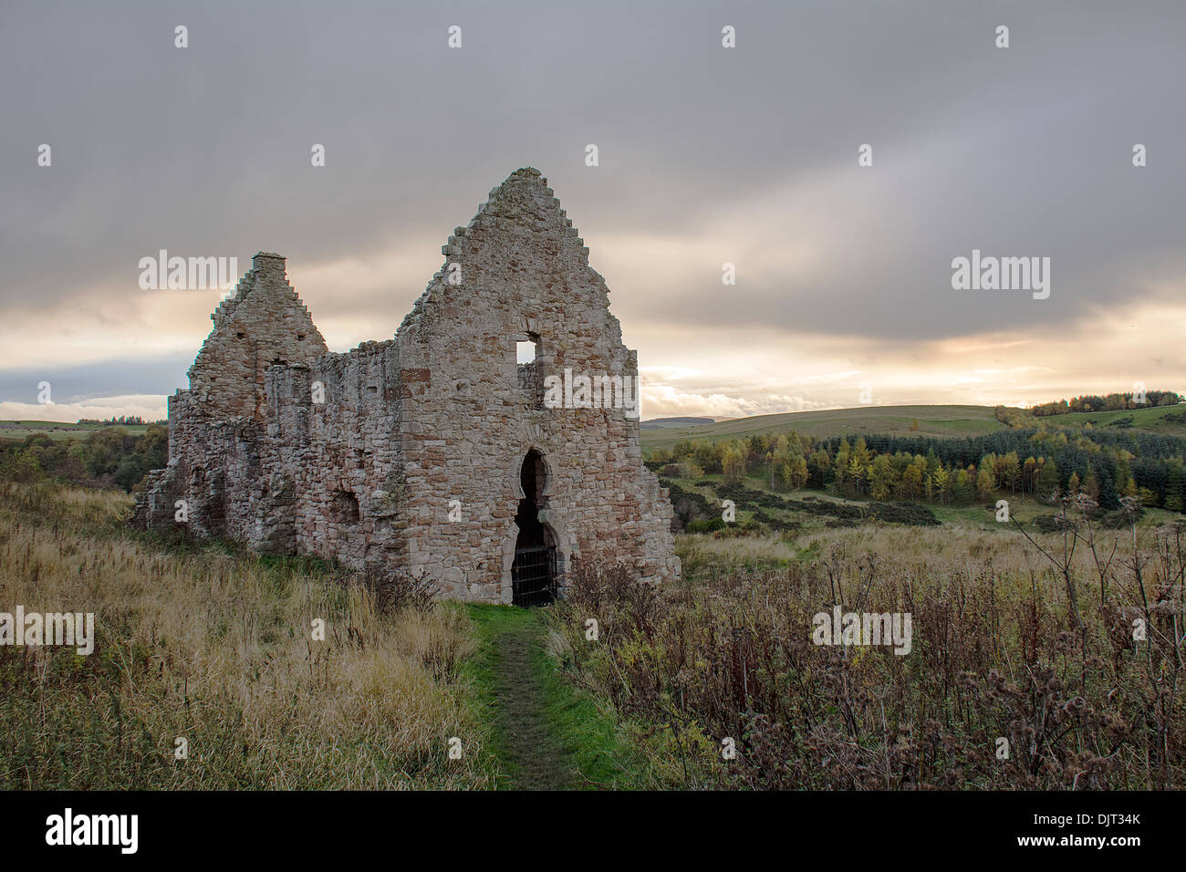 Ancient Horse Stables - Stock Image