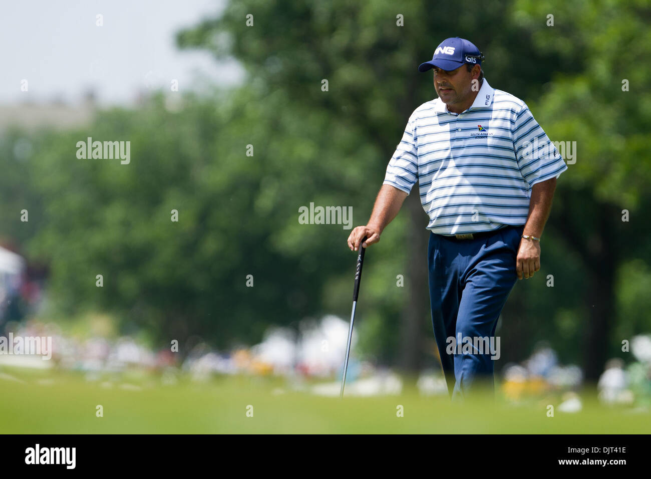 May 28 2010 Fort Worth Texas Usa 28 May 2010 Angel Cabrera
