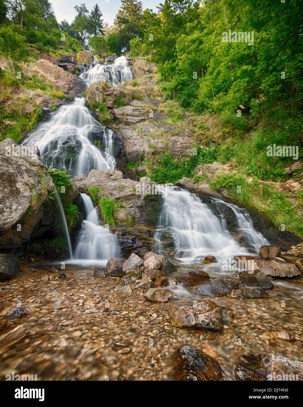 Todtnauer Waterfalls, Black Forest, Germany - Stock Image