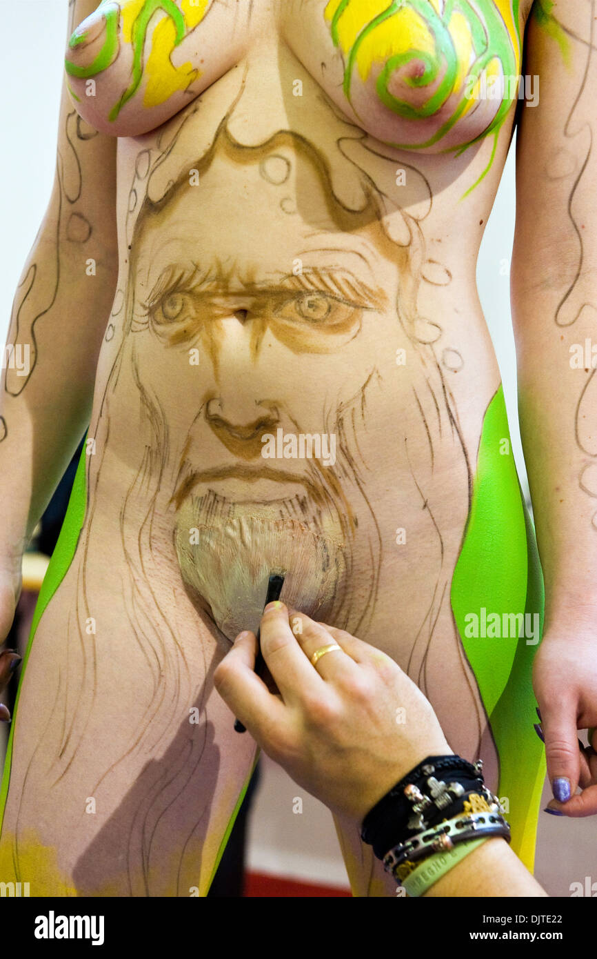 Paintaing body Can a
