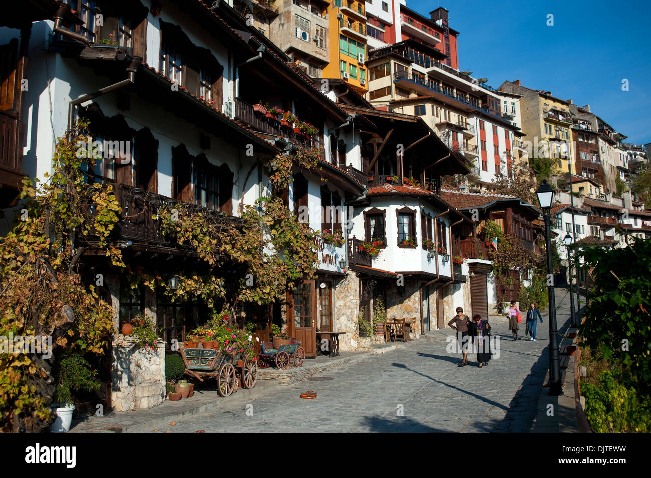 Traditional houses ( Bulgaria) - Stock Image