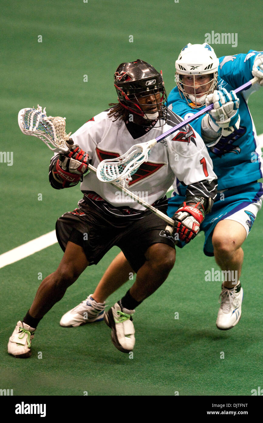 John Christmas Lacrosse.Philadelphia Wings Forward John Christmas 1 Is Challenged