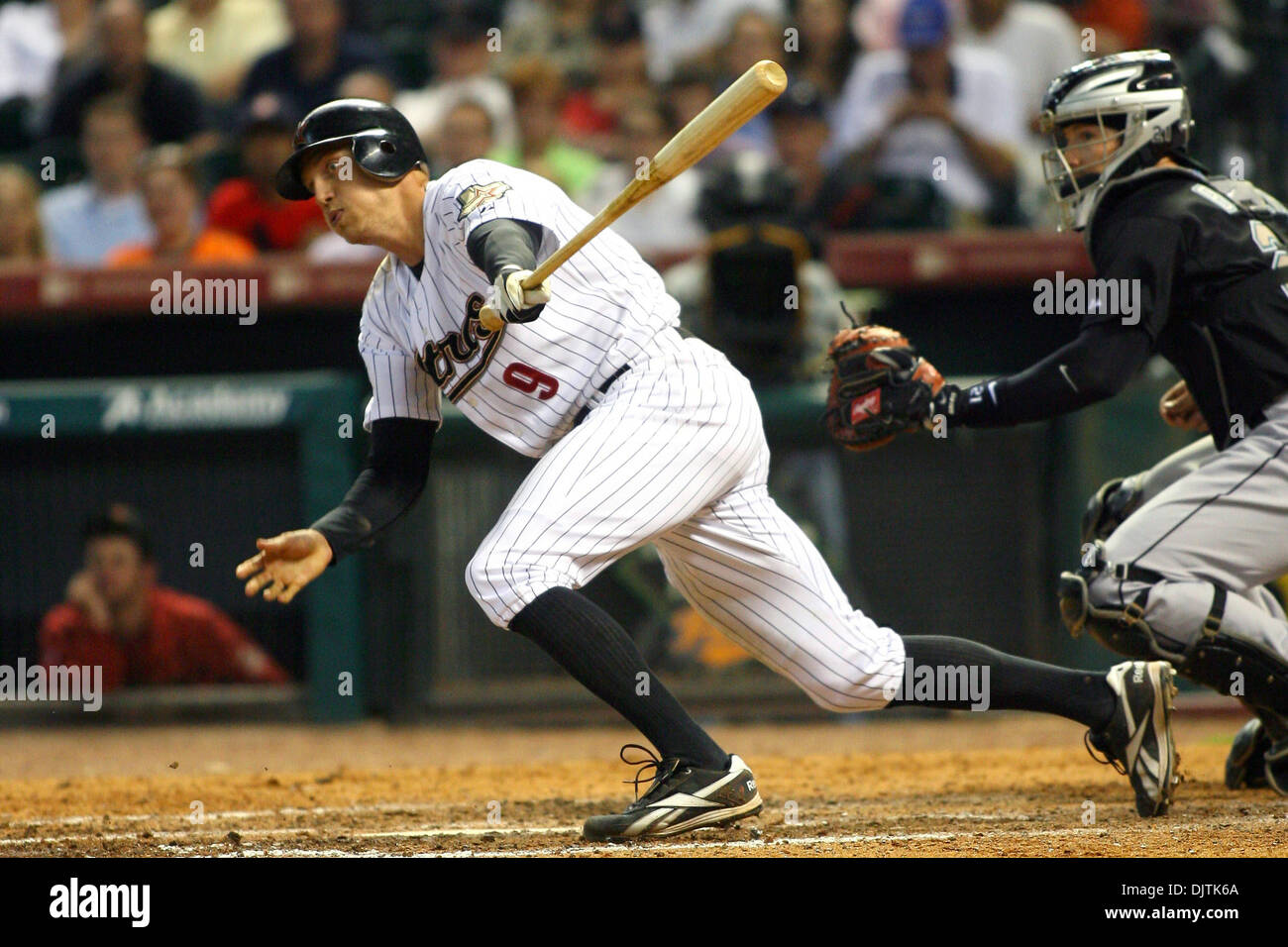 Houston Astros Outfielder Hunter Pence 9 Hussles Out Of The