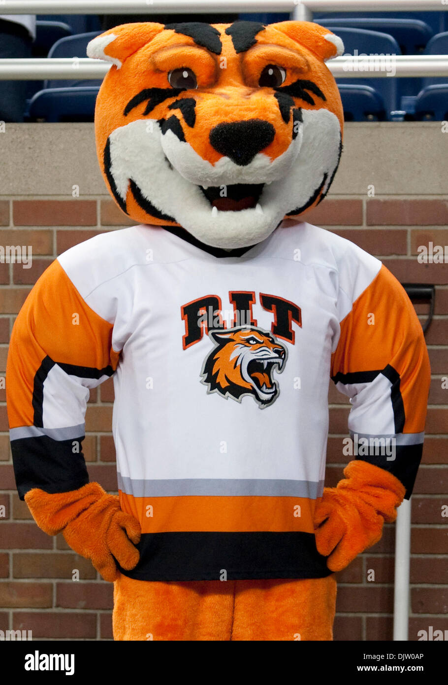 My Ford Credit >> RIT mascot during game action between the Wisconsin Badgers and the Stock Photo: 63244014 - Alamy