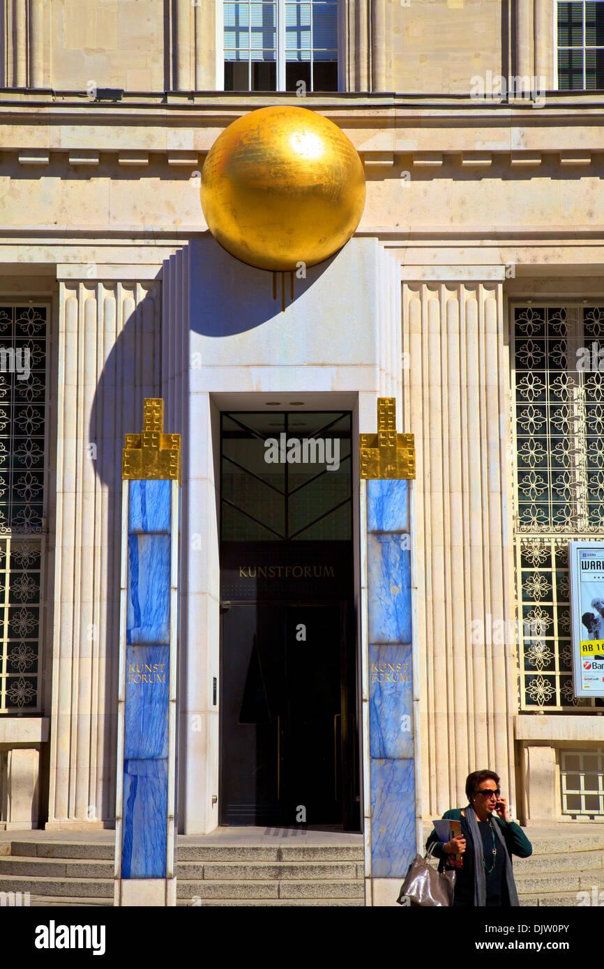 Bank Austria Art Forum, Vienna, Austria, Central Europe - Stock Image