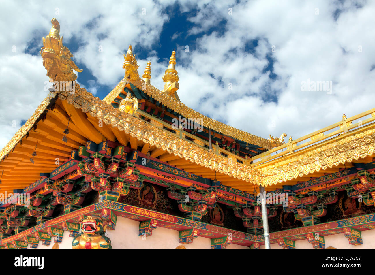 Jokhang temple, Lhasa, Tibet, China - Stock Image