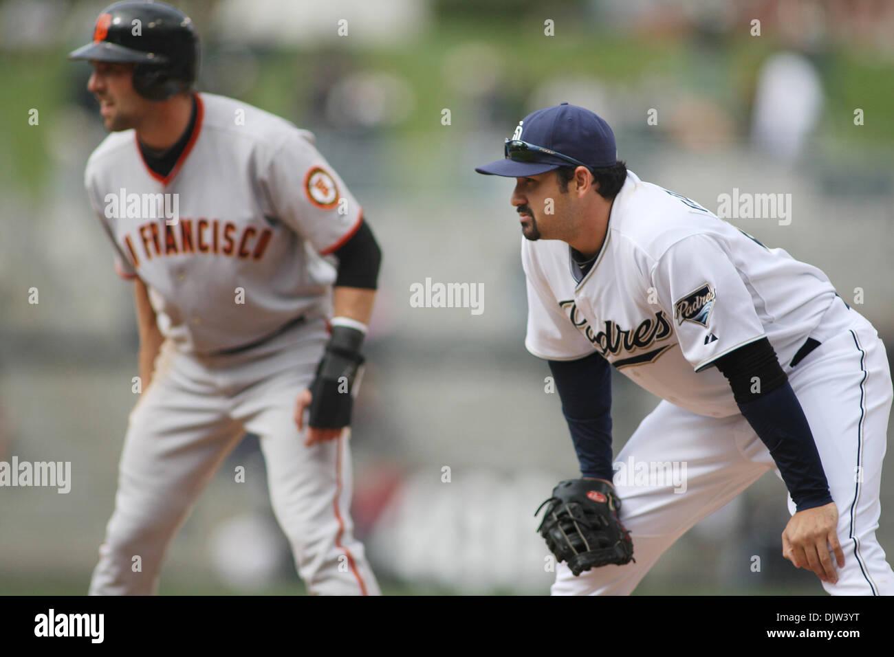 quality design b4eb5 eda83 San Diego Padres first baseman Adrian Gonzalez at first base ...