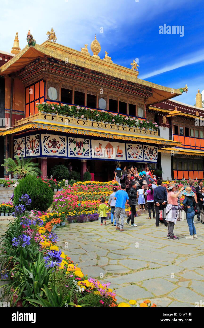 Norbulingka palace, Lhasa, Tibet, China - Stock Image