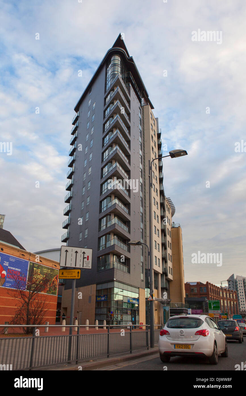 St Peters Street Skyline Apartments Leeds city centre West ...