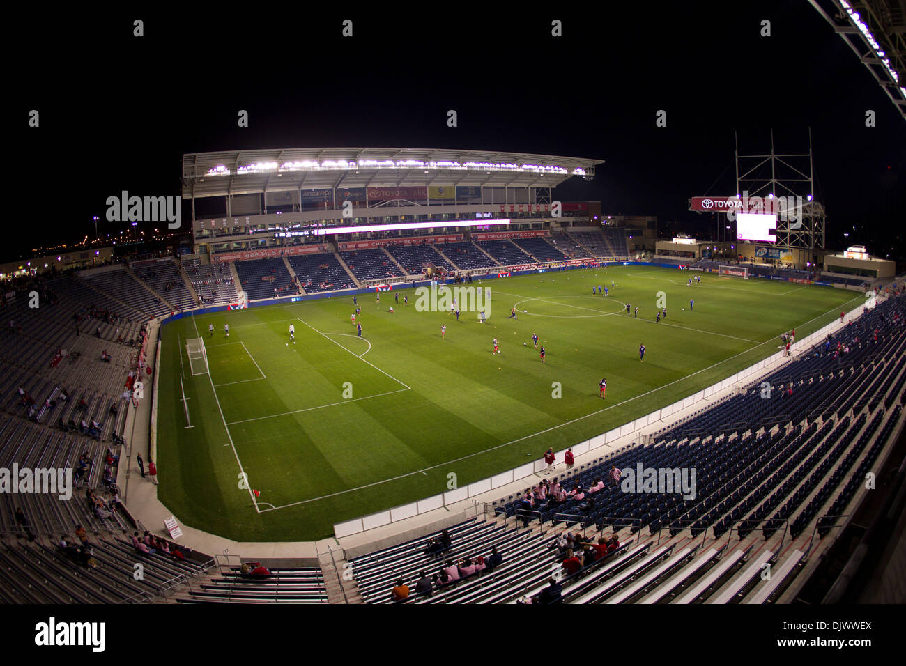 Oct. 12, 2010   Bridgeview, Illinois, United States Of America   Toyota Park  Before The Start Of The MLS Game Between The Chicago Fire And The Kansas  City ...