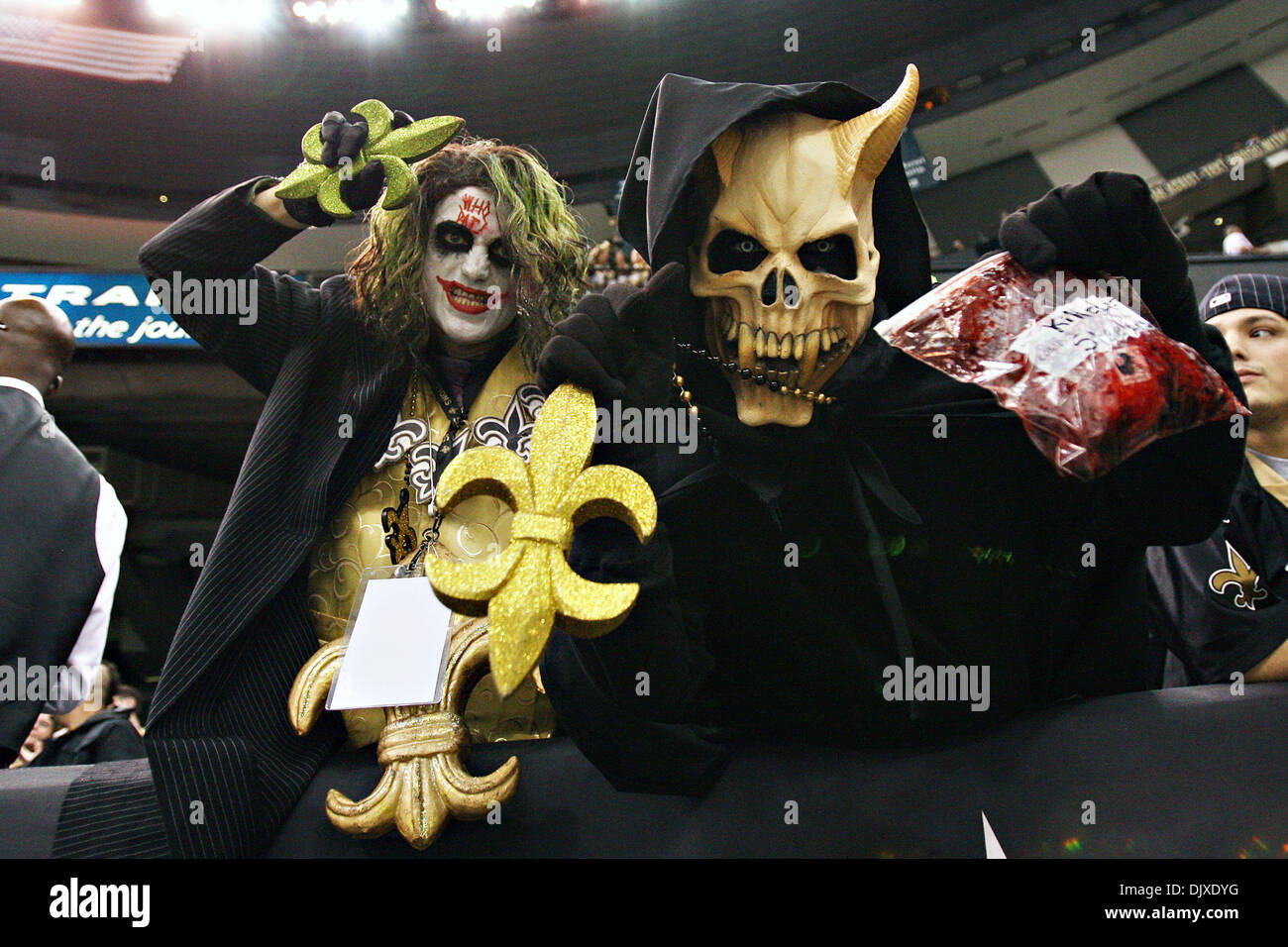 Oct 31 2010 Record Setting Fans Dress Up For Halloween And