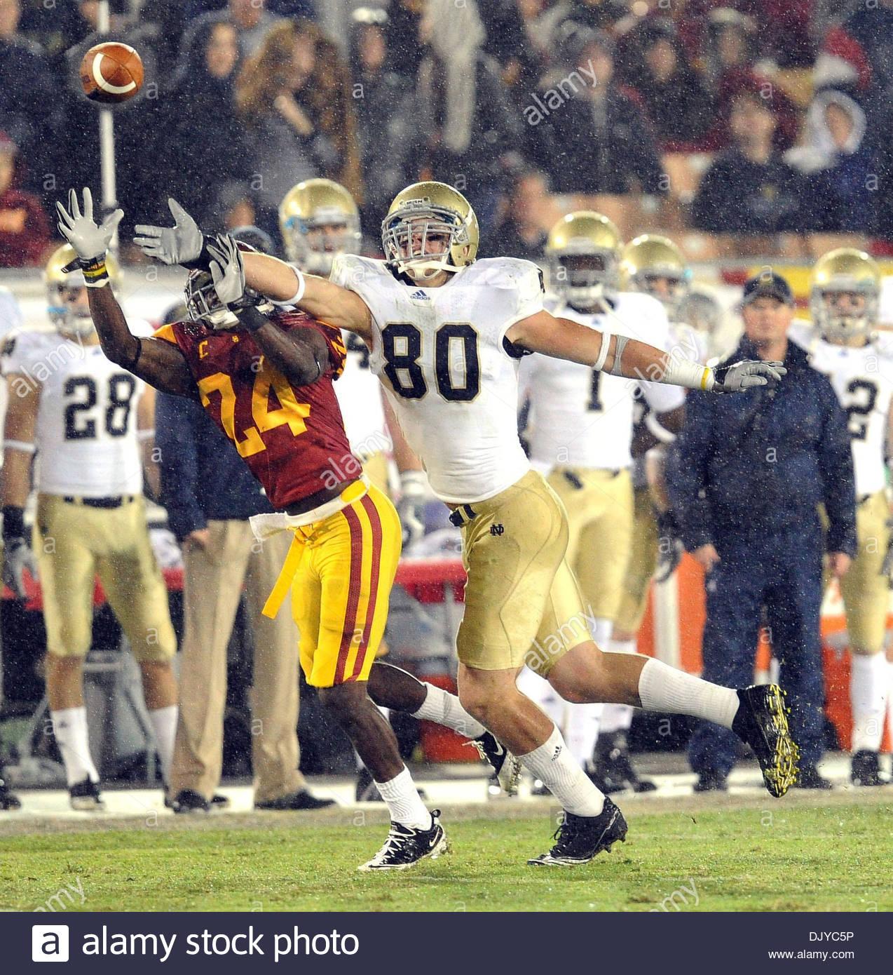 Nov 27, 2010 - Los Angeles, California, U.S. - Notre Dame's Tyler ...