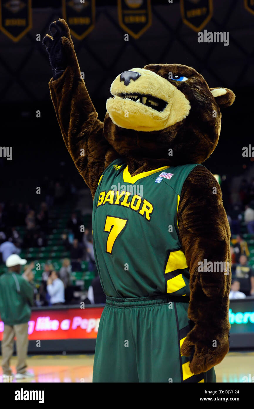 Dec 2 2010 Waco Texas United States Of America Baylor Bears
