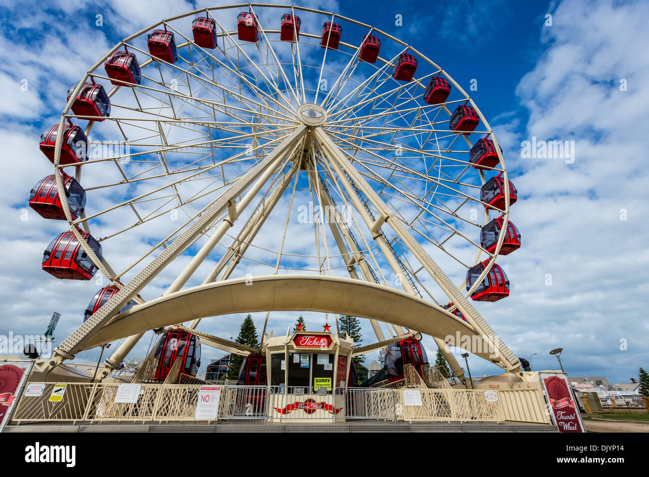The Skyview Observation Wheel, Fremantle, Western Australia, Australia - Stock Image