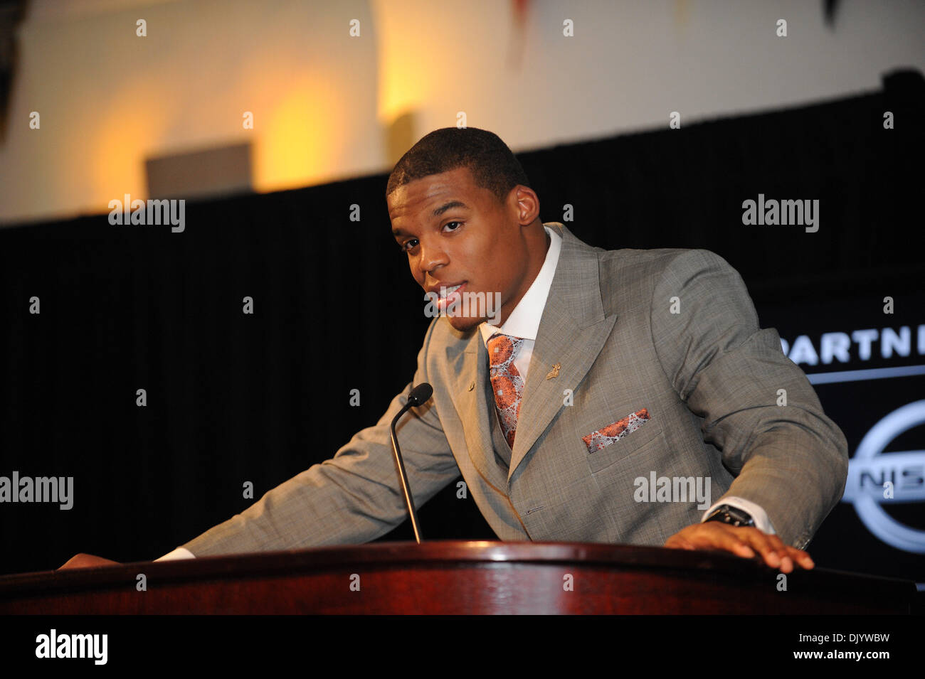 Cam Newton Heisman Trophy Stock Photos & Cam Newton Heisman