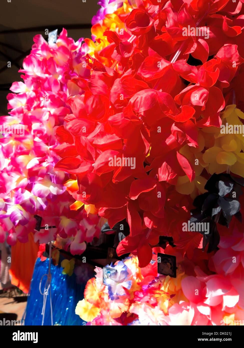 Spanish Flamenco garlands - Stock Image
