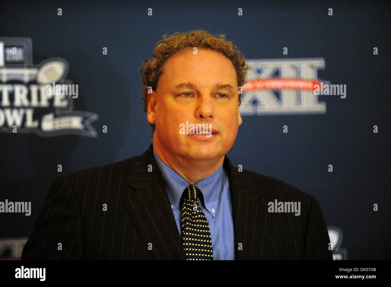 Dec. 22, 2010 - Manhattan, New York, U.S. - New York Yankees President RANDY LEVINE speaks as The New Era Pinstripe Bowl announces that it will donate over 6,000 tickets to New York City - based charitable and community groups for the inaugural bowl game to be played on December 30, 2010 at Yankee Stadium. (Credit Image: © Bryan Smith/ZUMAPRESS.com) - Stock Image