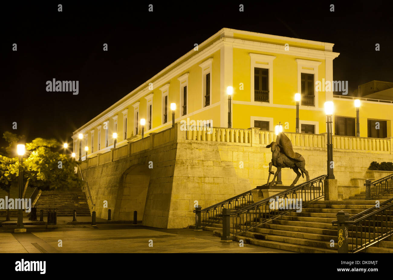 Institute of Puerto Rican Culture, Old San Juan, Puerto Rico - Stock Image