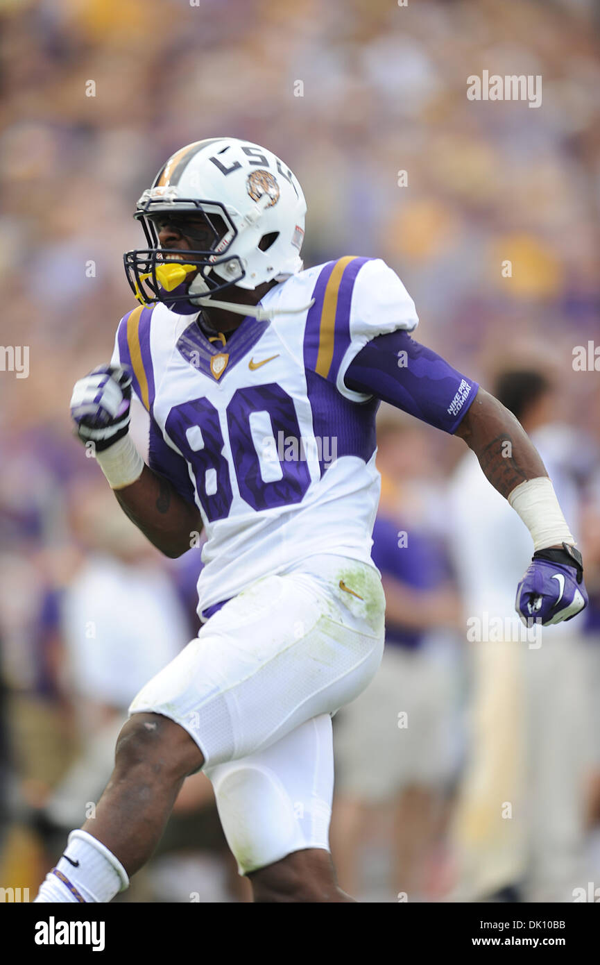 brand new c0e5c 42c31 LSU Tigers wide receiver Jarvis Landry (80) celebrates after ...