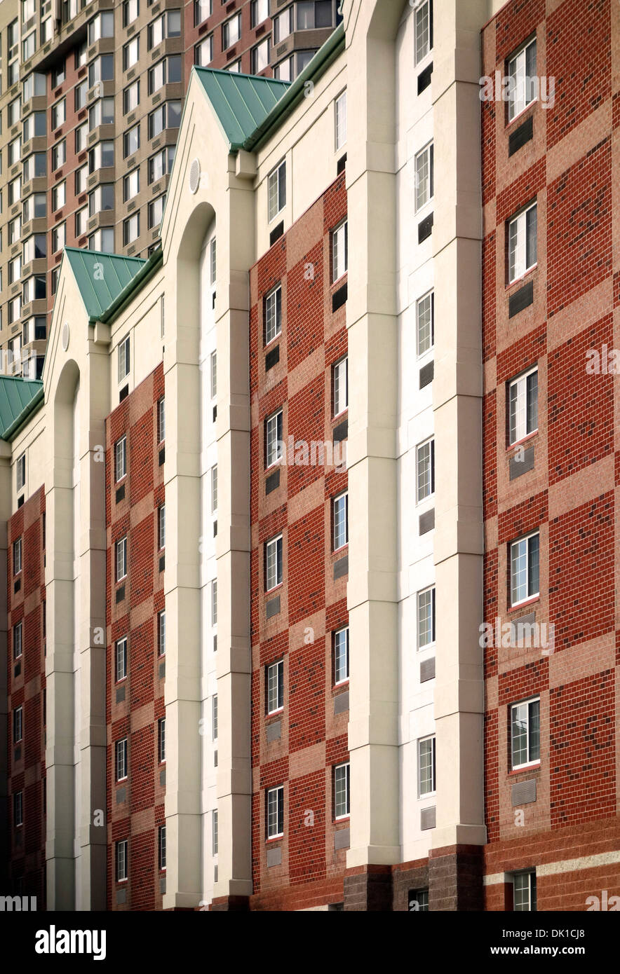 apartment buildings in jersey city nj stock photo 63341440 alamy