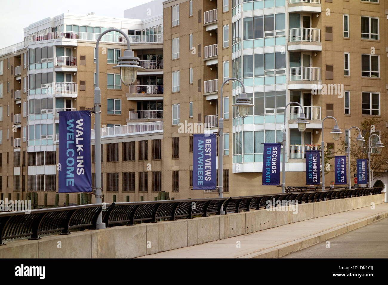 apartment buildings in jersey city nj stock photo 63341450 alamy
