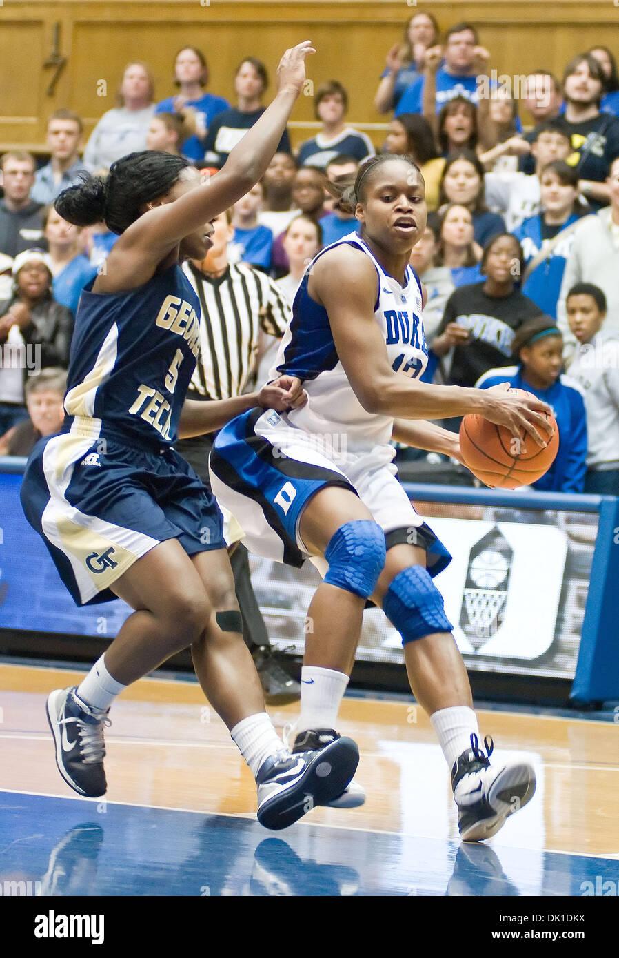 Jan. 21, 2011 - Durham, North Carolina, U.S - Duke guard/forward ...