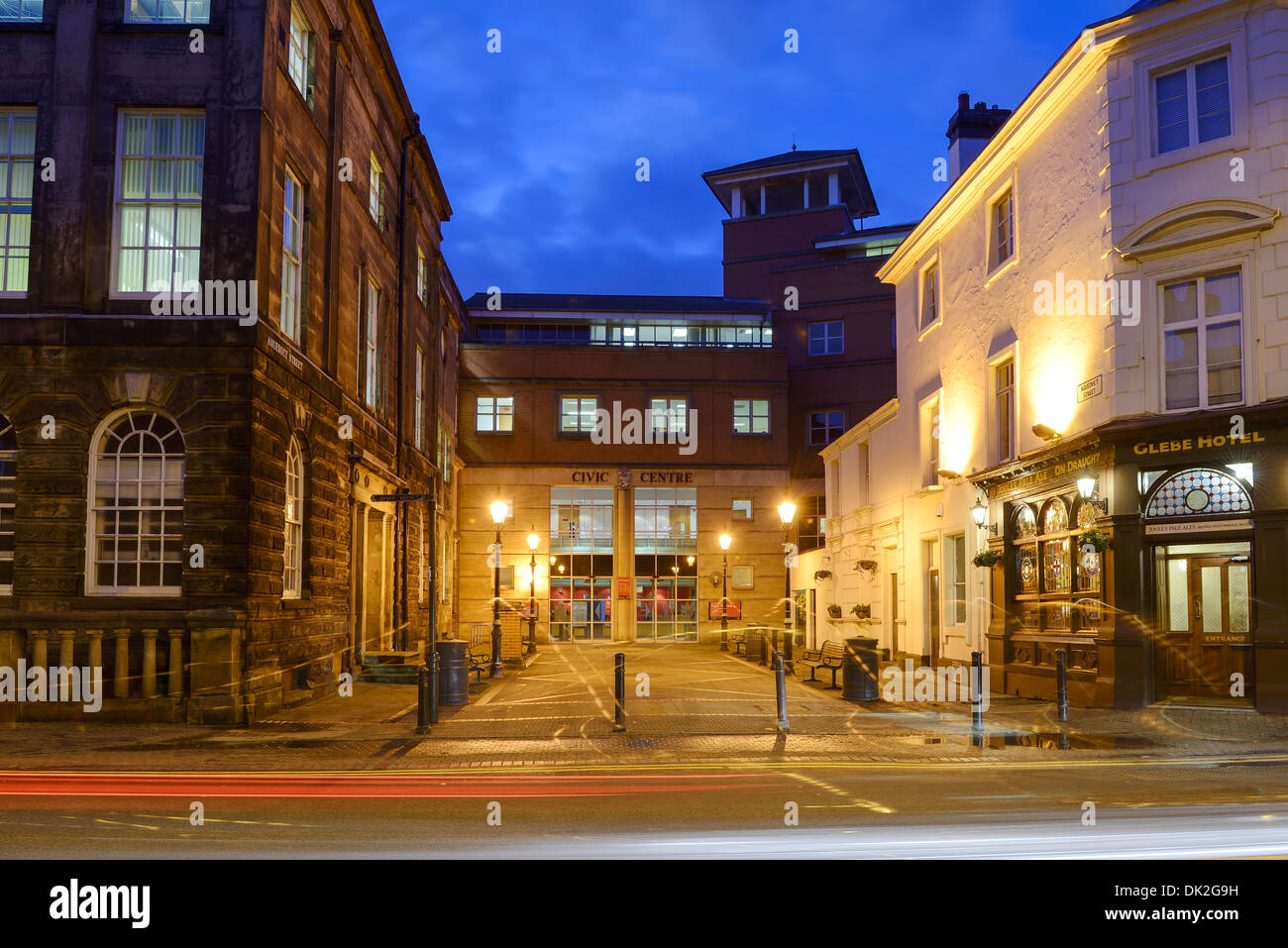The Civic Centre council offices in Stoke on Trent UK - Stock Image