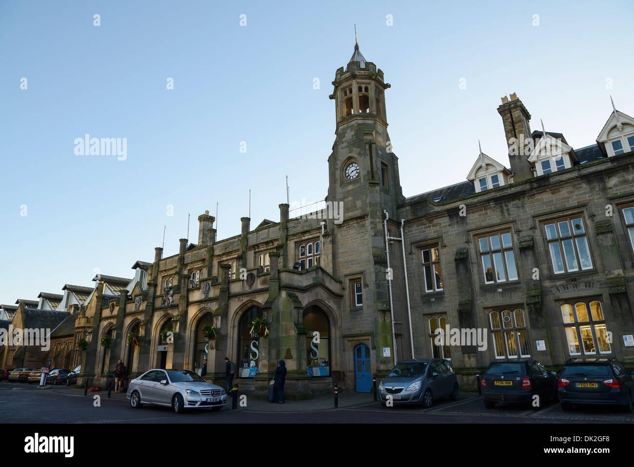 Carlisle Citadel Station - Stock Image