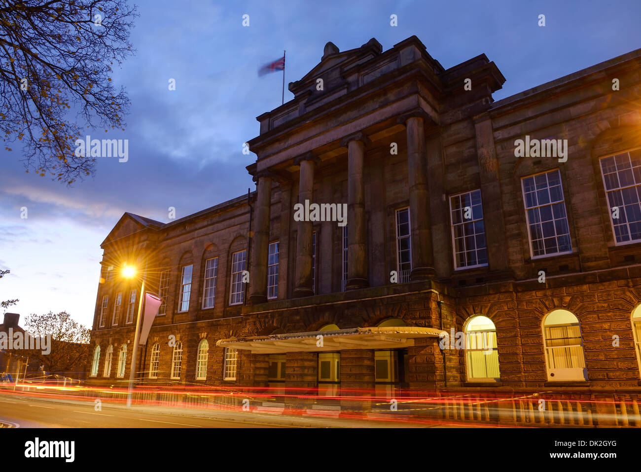 The Town Hall building in Stoke on Trent - Stock Image