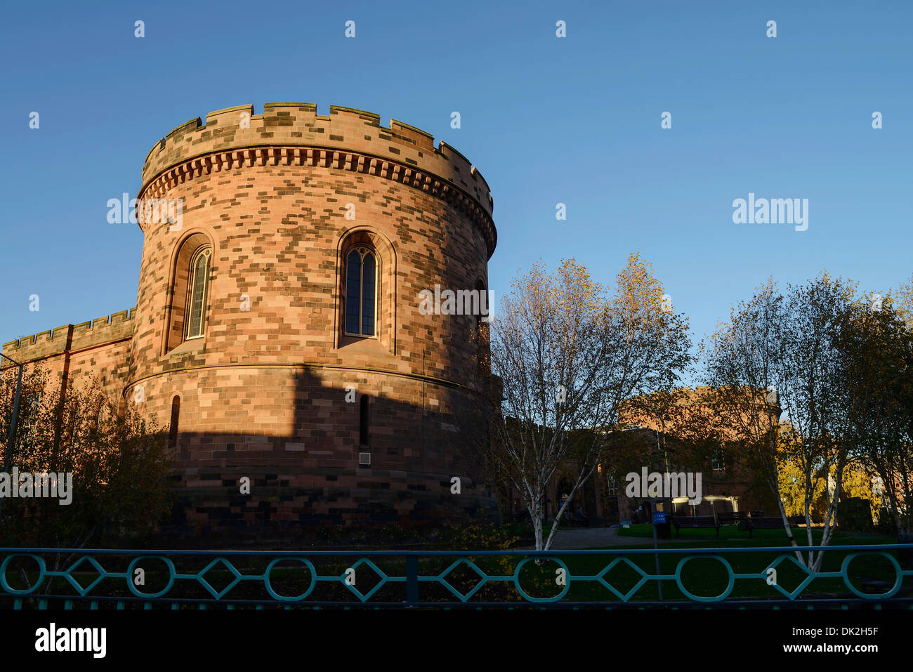The Court Buildings in Carlisle City Centre UK - Stock Image