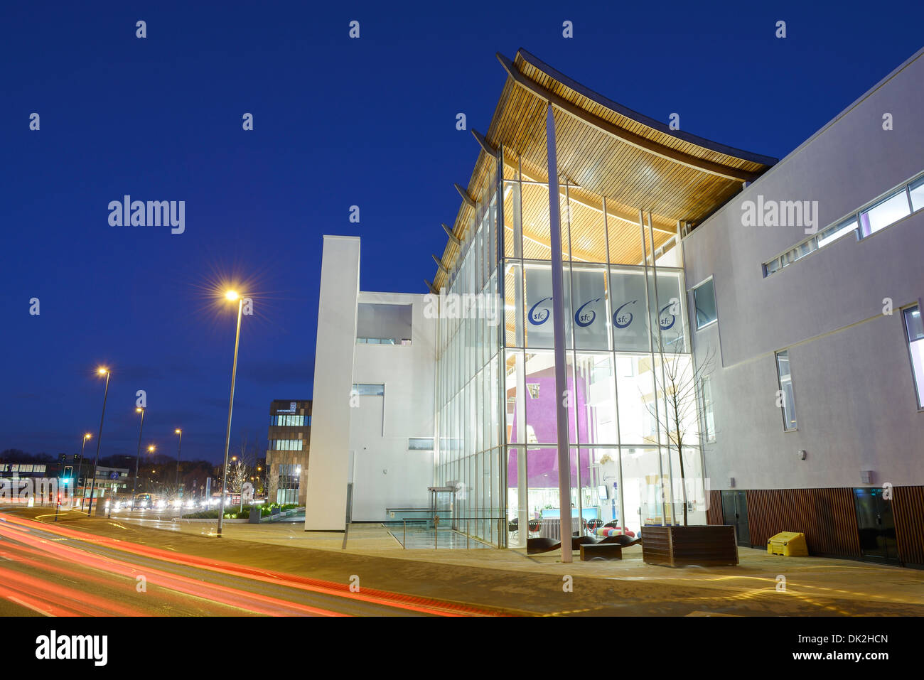The City of Stoke on Trent Sixth Form College - Stock Image