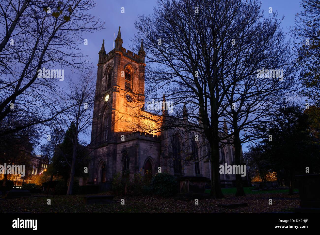 The Minster in Stoke on Trent - Stock Image