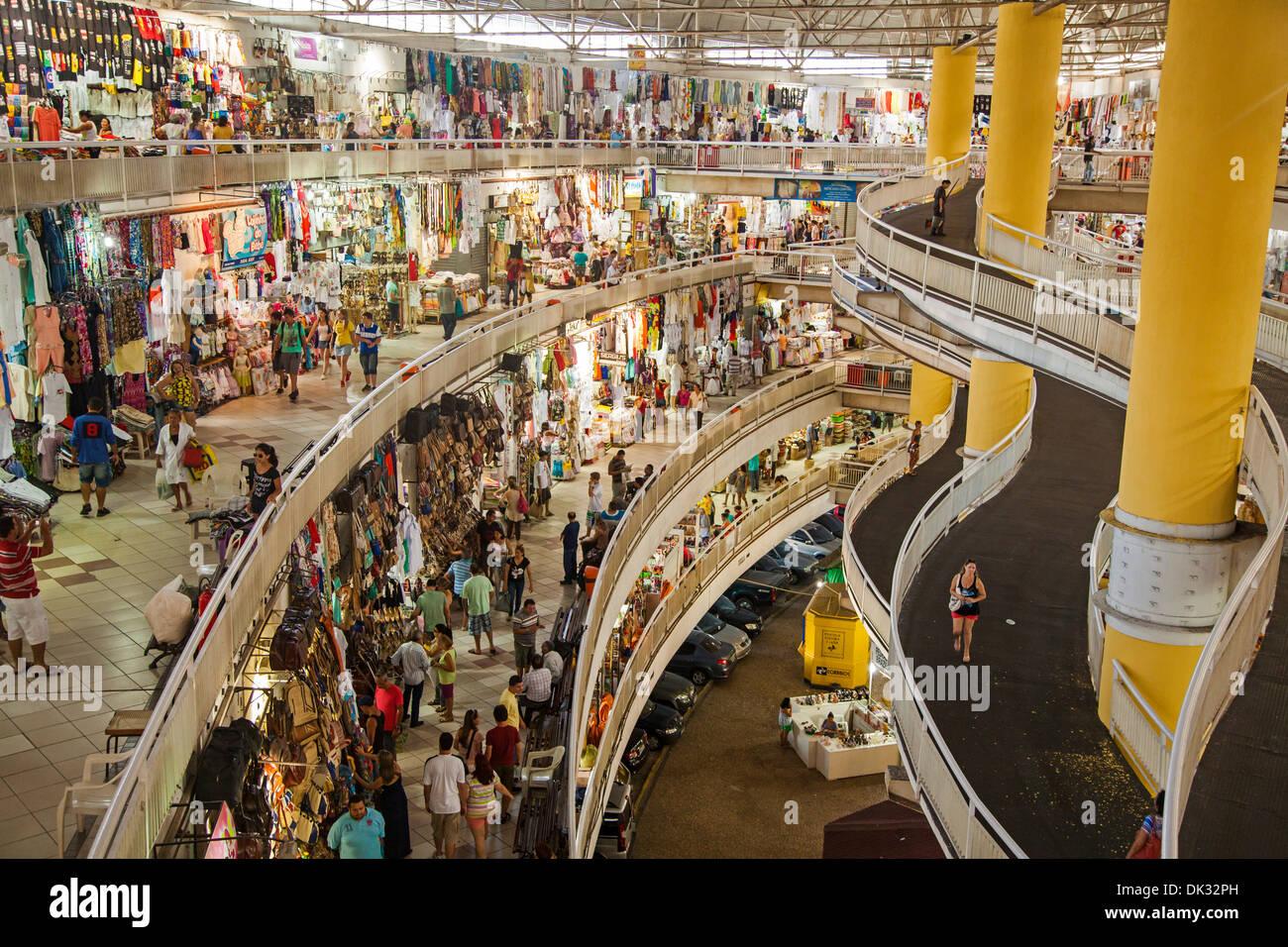 Mercado Central, Fortaleza, Brazil. - Stock Image