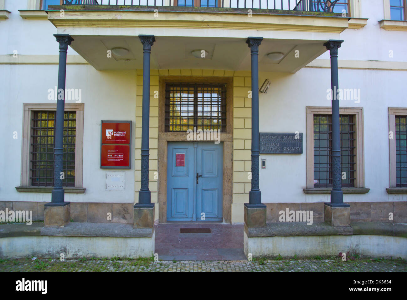 Postovni Muzeum the postal museum new town Prague Czech Republic Europe - Stock Image