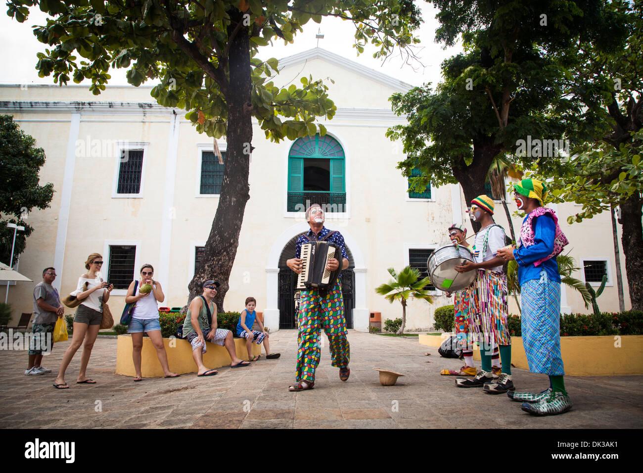 Scene from Centro de Turismo do Ceara, Fortaleza, Brazil. - Stock Image