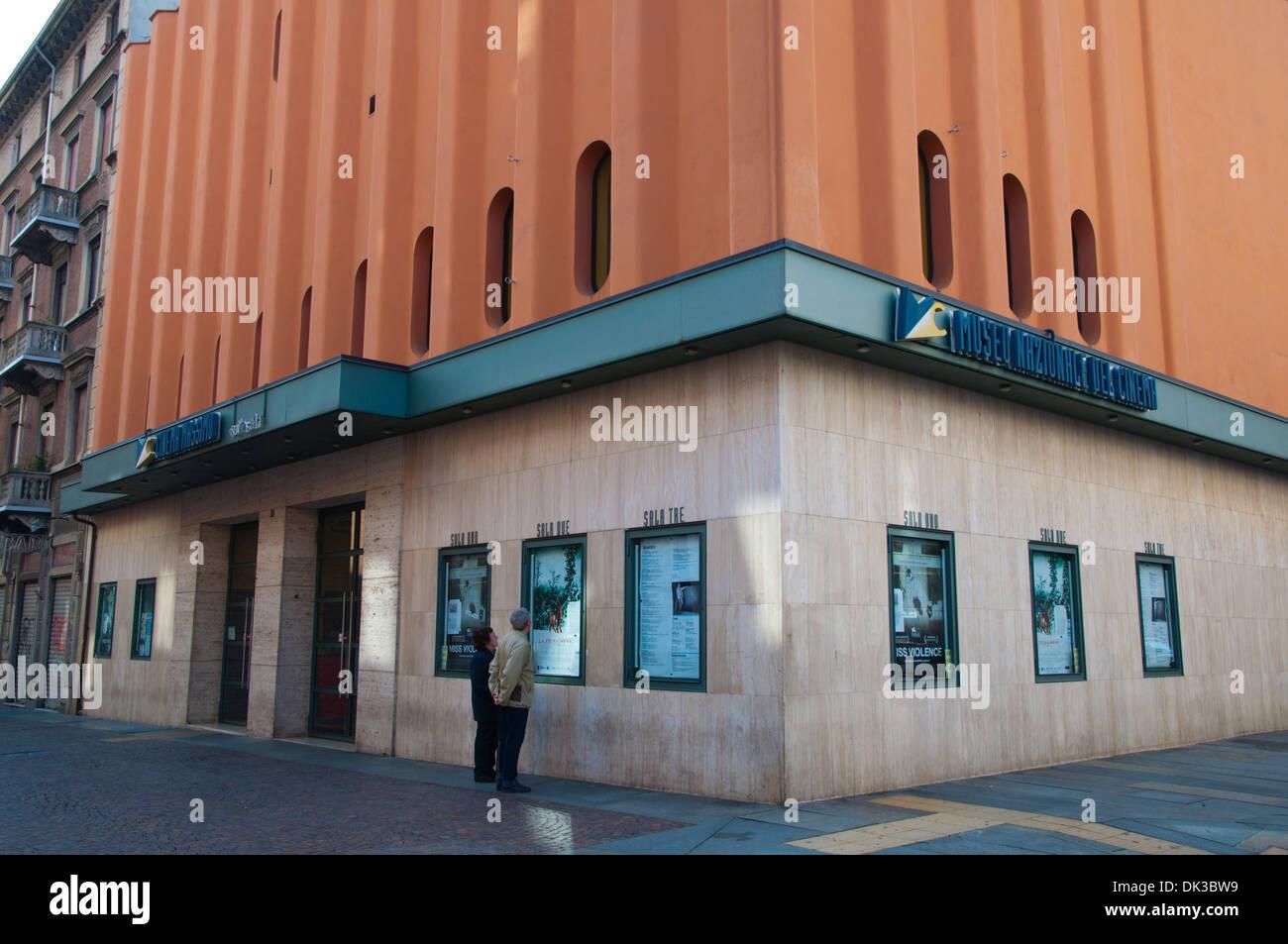 Cinema Massimo, Turin city Piedmont region northern Italy Europe - Stock Image