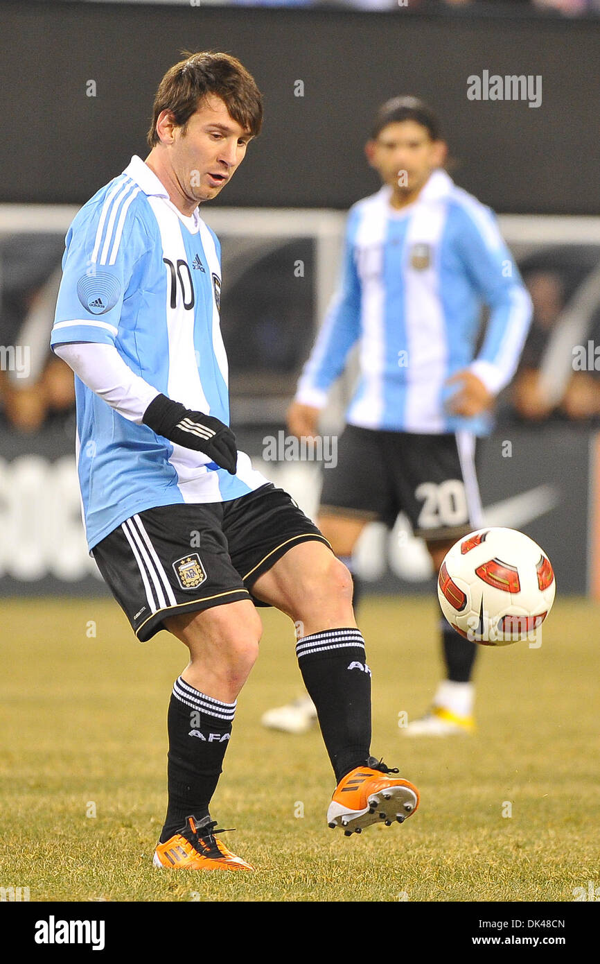 641f50163a9 26, 2011 - East Rutherford, New Jersey, U.S - Team Argentina forward Lionel  Messi (10) in FIFA international friendly soccer action at The New  Meadowlands ...