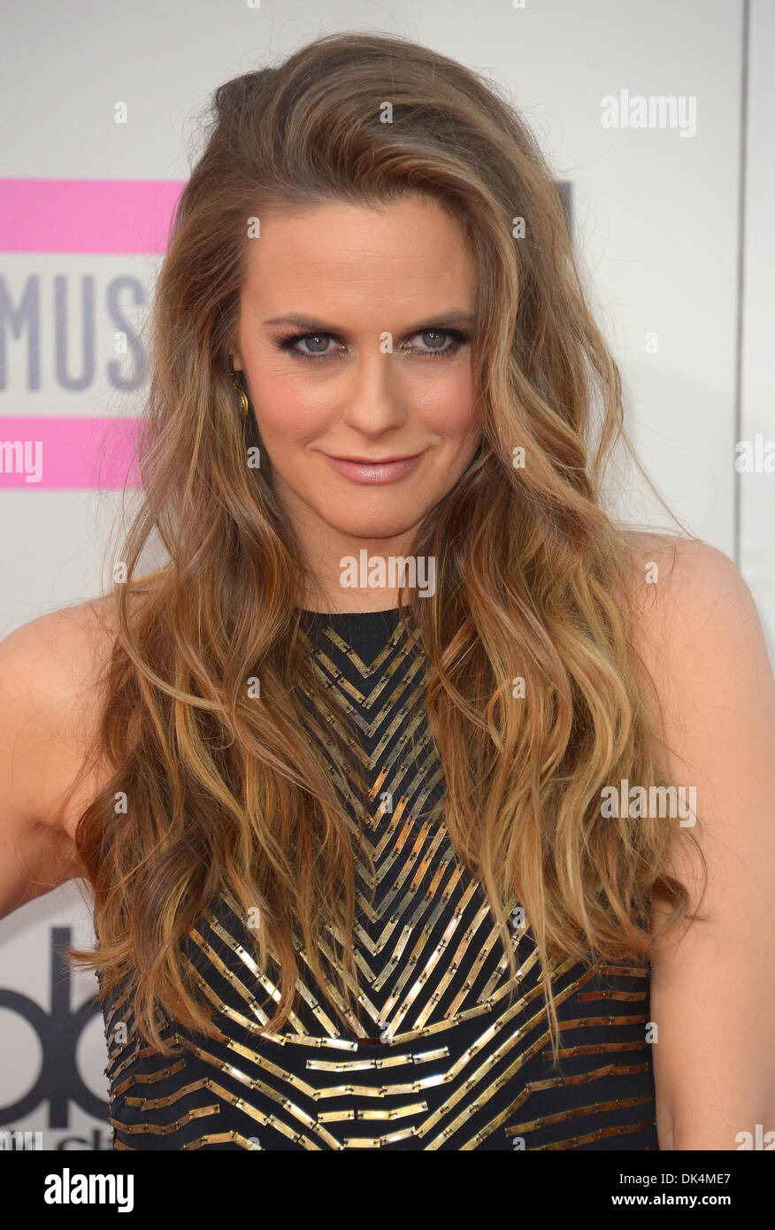 Alicia Silverstone arrives at the American Music Awards, Los