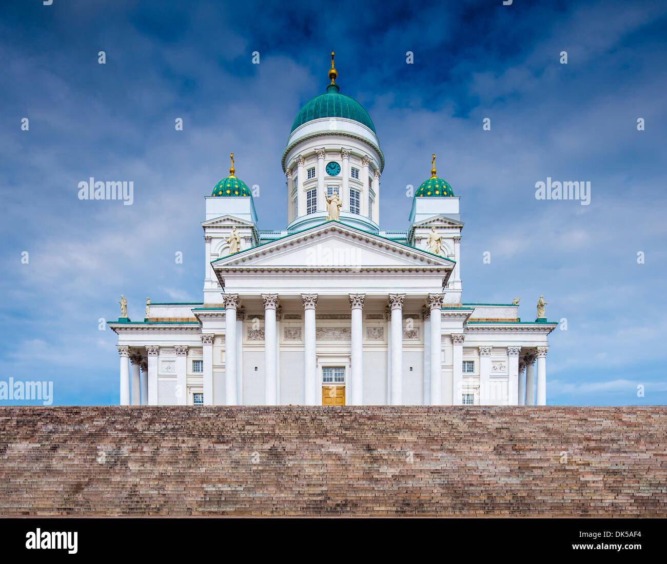 Helsinki Cathedral in Helskini, Finland. - Stock Image