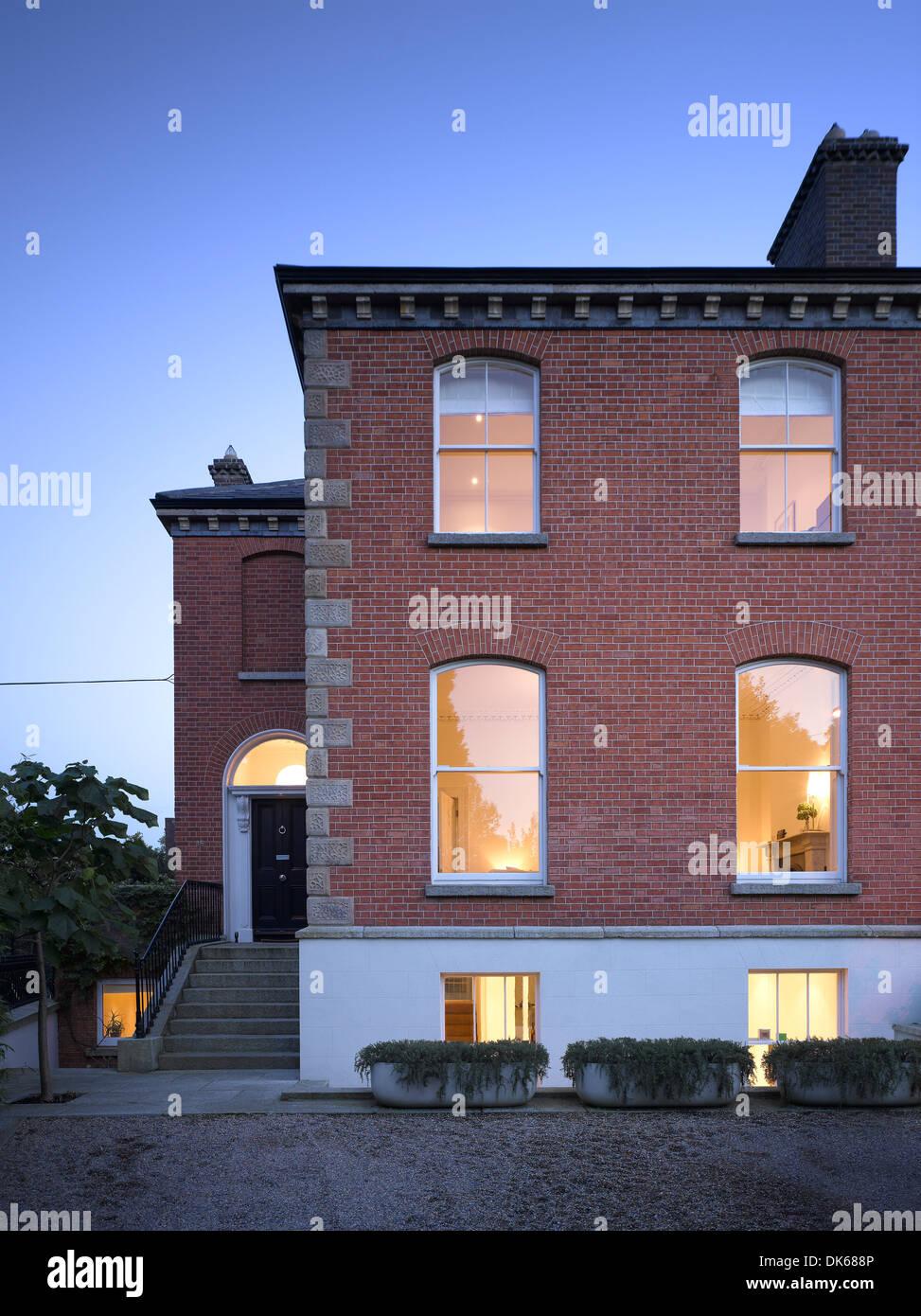 dublin raumplan house and garden dublin ireland architect john