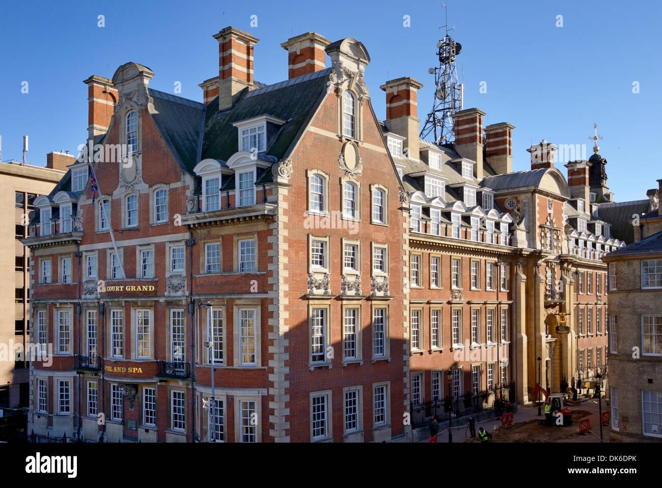 Cedar Court Grand Hotel & Spa, York, Yorkshire, England, United Kingdom, Europe - Stock Image