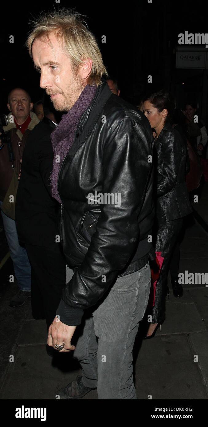 Rhys Ifans at Sketch nightclub London, England - 26.09.12 - Stock Image