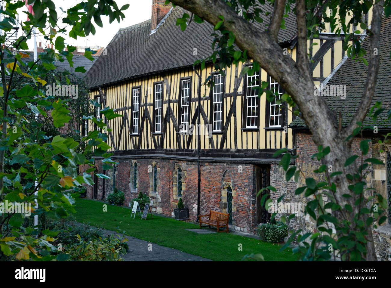 The Merchant Adventurers' Hall, Medieval Guildhall, York, Yorkshire, England, United Kingdom, UK, Europe - Stock Image