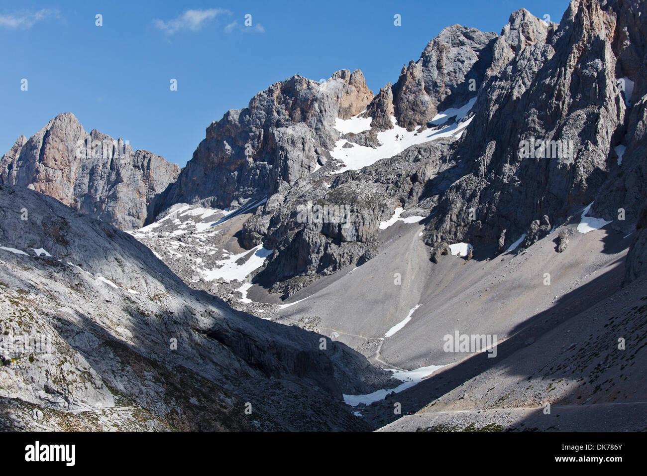 Picos de Europa, Cantabria, Spain - Stock Image