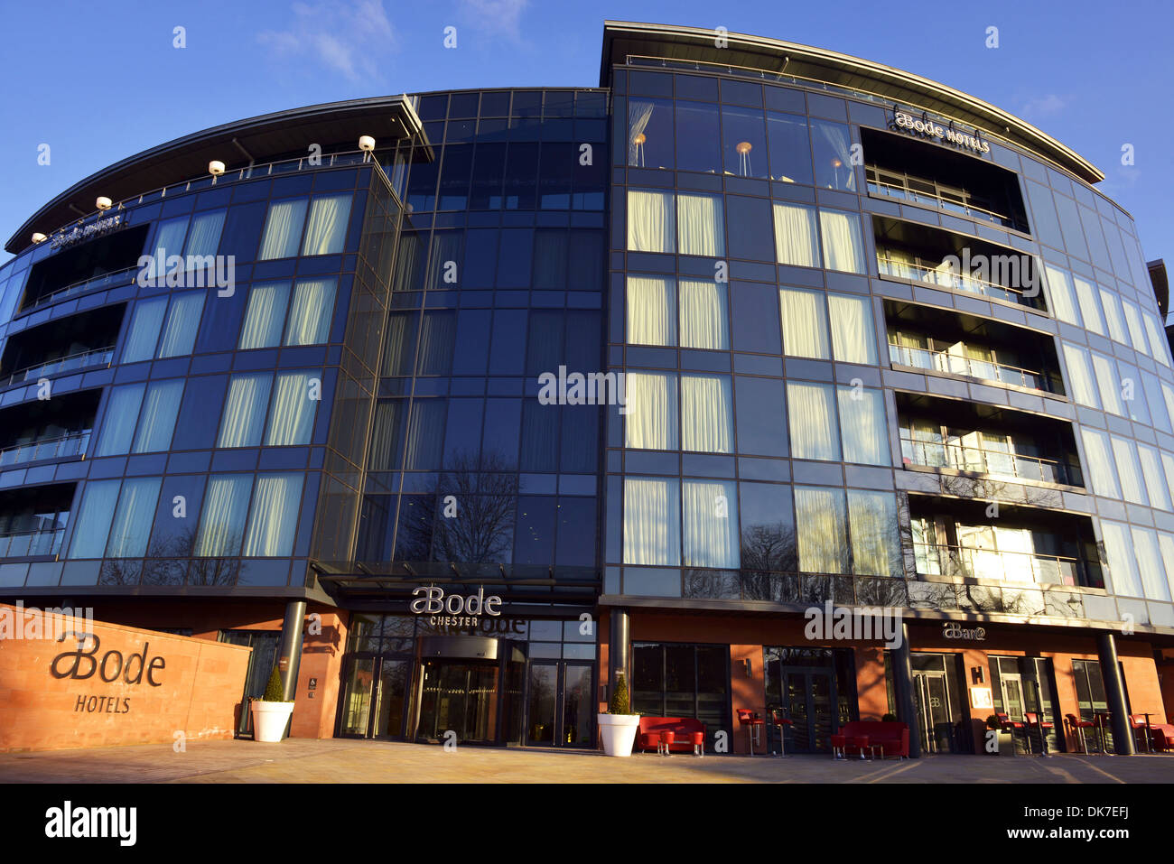 Abode Hotel. The Cheshire Abode Hotel, The city of Chester, Cheshire, Britain, UK - Stock Image